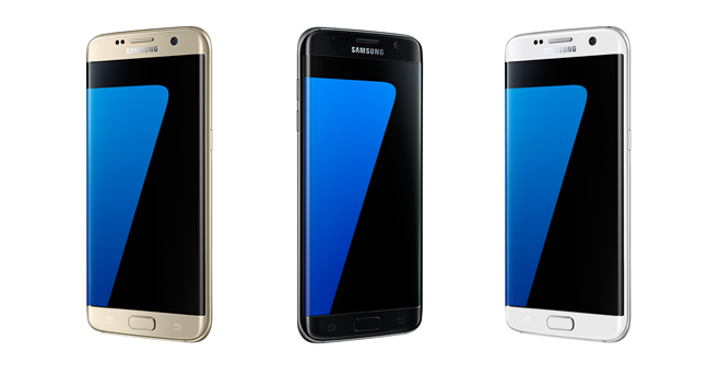 Samsung Galaxy S7 edge Colors back